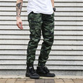 Casual Men Pants Camouflage Fitness Hip Hop Male Clothing Cargo Pants Work Leisure Trousers Military Sweatpants Men Joggers