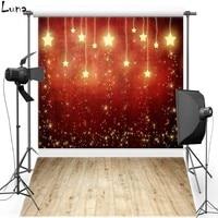 Light Sparkle Star Vinyl Photography Background Backdrops For Wedding Wood Floor Oxford backgrounds for photo studio 352