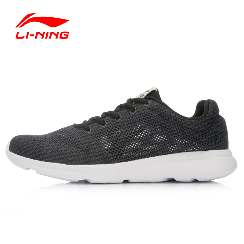 LI-NING Original Men's Running Shoes Breathable Easy Run Sneakers EVA Outsole Footwear Soft Sports Shoes LINING ARJL001 original li ning men professional basketball shoes