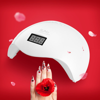 SUN5X UV LED Lamp 48W Nail Dryer Lamp For Drying Nails Double Light Auto Sensor With