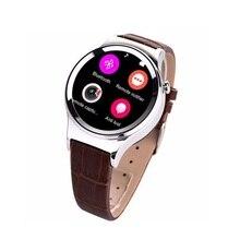 2016 wasserdichte Intelligente Uhr T3 Leder Smartwatch Unterstützung SIM TF Karte Bluetooth WAP GPRS SMS MP3 MP4 Für Android IOS Verschleiß Uhr