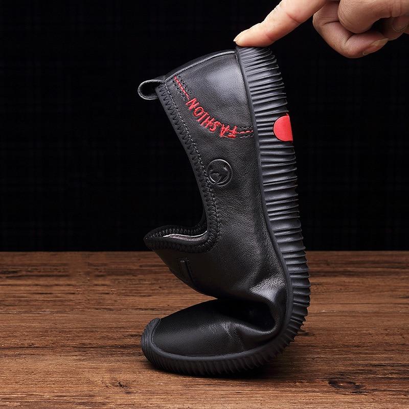 Nagy méretű férfiak valódi bőrcipők divat cipő cipő férfi férfi ... b7575c3a86