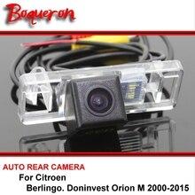 Для Citroen Berlingo Doninvest Orion m 2000-2015 Ночное Видение заднего вида камера реверсивная камера автомобиля Резервное копирование камера HD CCD