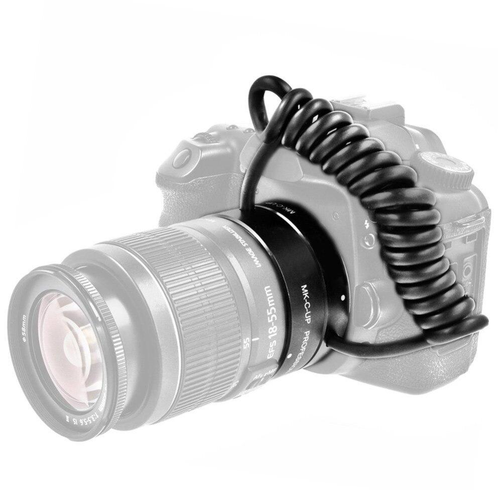 Mcoplus Meike MK-C-UP Auto Macro Tube d'extension AF adaptateur inverse pour appareil photo Canon EOS EF caméra de montage 6D 7D 60D 70D 1100D 650D