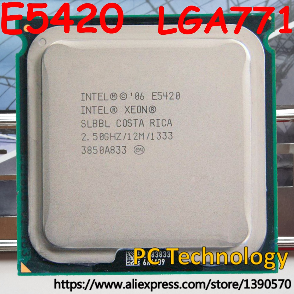 Renewed Intel Xeon DP Quad-core E5420 2.5GHz 2.5GHz Processor Upgrade 1333MHz FSB
