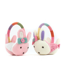 Korean Winghouse Children's Cute Cartoon Rabbit Earmuffs Baby Girls Ear Warmer