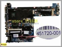 original 2510P Integrated Laptop motherboard For HP 451720-001 100% Test ok