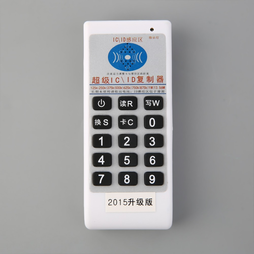 Professional ID/IC Card Copier/Writer/Readers/Duplicator +10 ID Tags+10 Cards Built in LED Lights Buzzer Individual Indicator