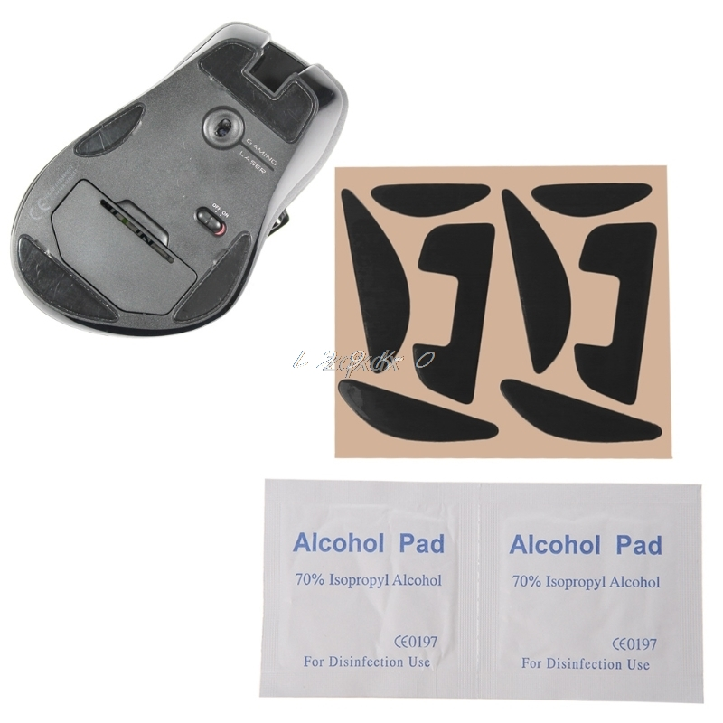 2 Sets Mouse Skatez / Mouse <font><b>Feet</b></font> Mice Pad for <font><b>G700</b></font> G700S Laser Mouse Z09 Drop ship Xianjia image