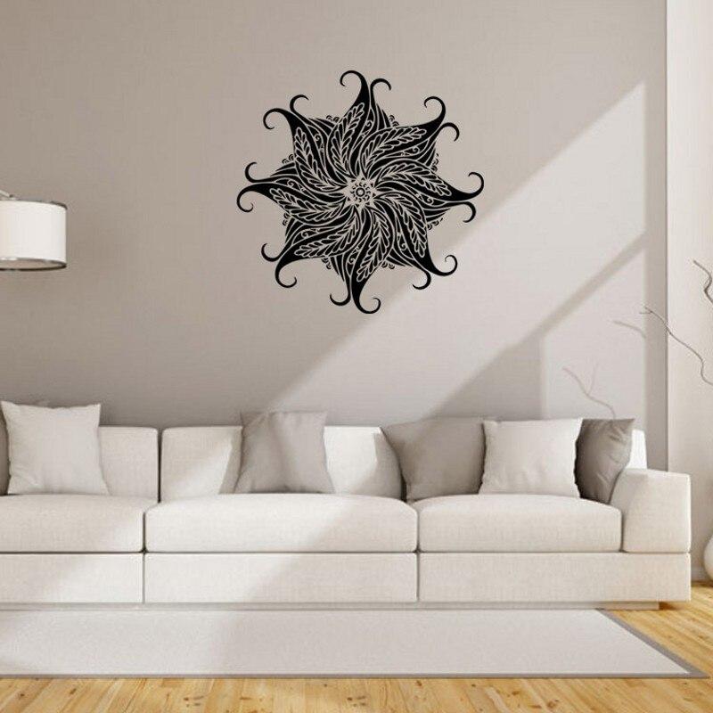 Aliexpresscom  Buy PC CM Mandala Flower Design Wall Decals - Window stickers for home india