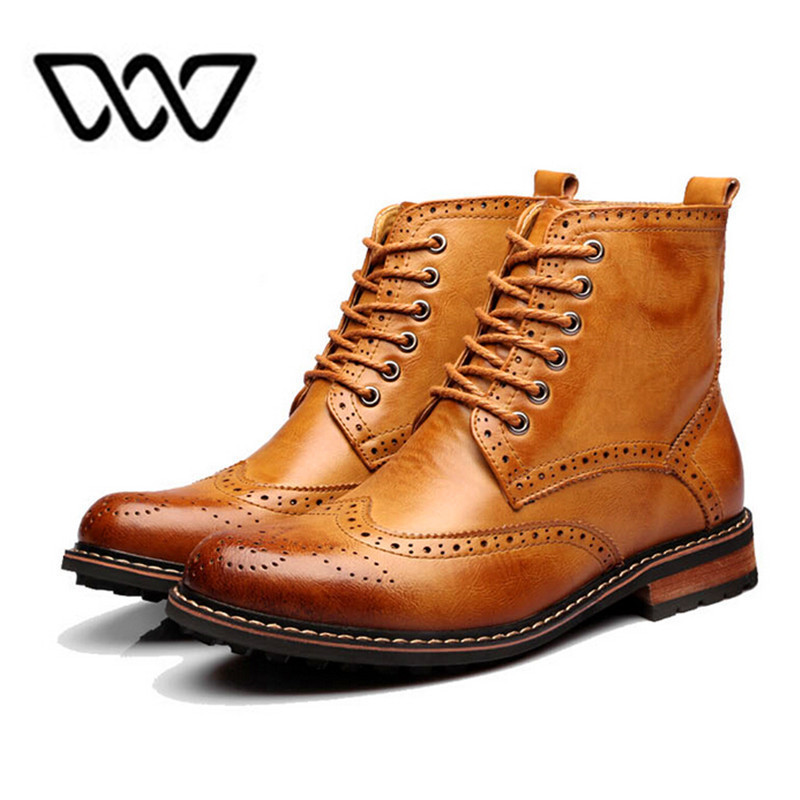 2016 brand Men Ankle Motorcycle boots Oxford Shoes Winter autumn Men  Genuine Leather boots mens British Bullock Style boots 8069|motorcycle  wrap|motorcycle boot coversboot motorcycle - AliExpress