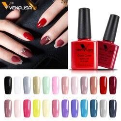 #61508 Заводские поставки для ногтей, новый дизайн ногтей Venalisa, 60 цветов, замочить от УФ-геля, лак для ногтей, УФ-лак для ногтей, гель