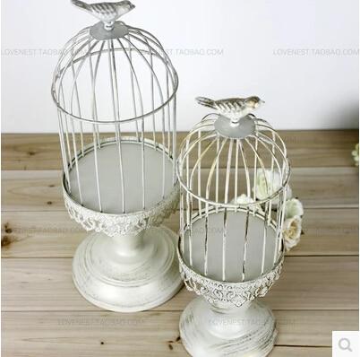 White Decorative Bird Cages Classic Decorative Bird Cage