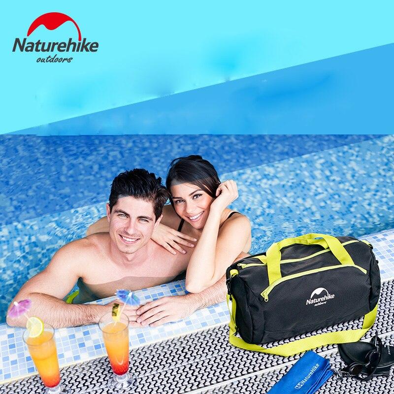 Naturehike Factory Store Outdoor Waterproof Bag Dry Wet Separation Swimming Bag Beach Mobile Phone Snorkel Backpack Drifting Bag Campcookingsupplies