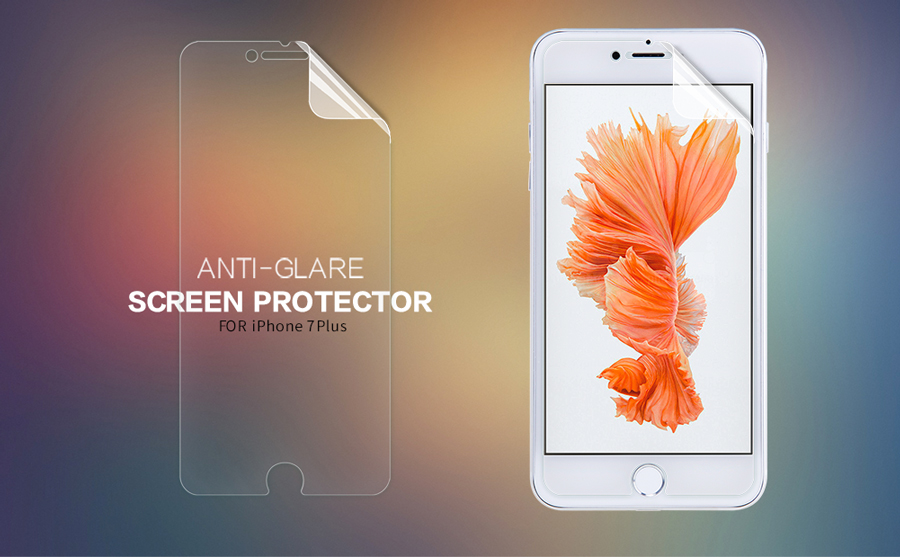 For Apple iPhone 7 Plus Matte Protective Film NILLKIN Matte Scratch-resistant Screen Protector Film For Apple iphone 7 plus