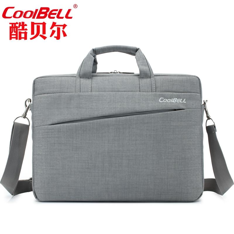 Cool Bell 12 13.3 14 15.6 inch laptop messenger funda ordenador portatil 15.6 14 inch laptop sleeve briefcase with luggage belt