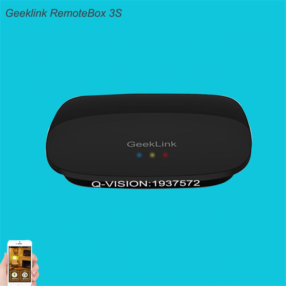 Geeklink Remotebox 3S Smart Universal Wireless Control 8-15M Realtime Feedback WIFI+IR+RF AndroidIOS Home Automation 315 433Mhz-2