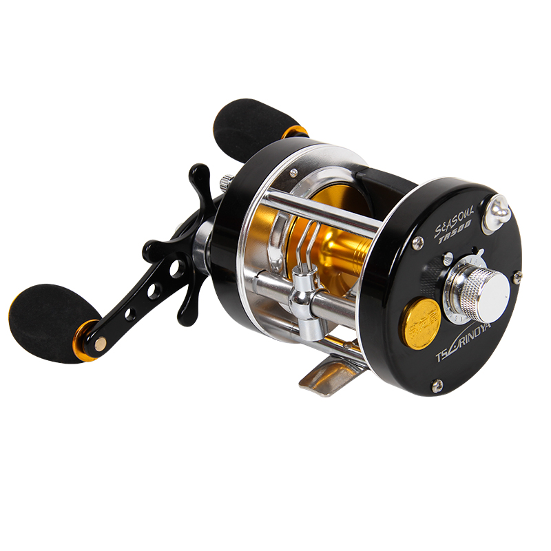 Trulinoya Full Metal Casting Fishing Reel Cast Drum Wheel Bait 9BB Black Fish Carp Fishing Tackle vendetta lee hymn