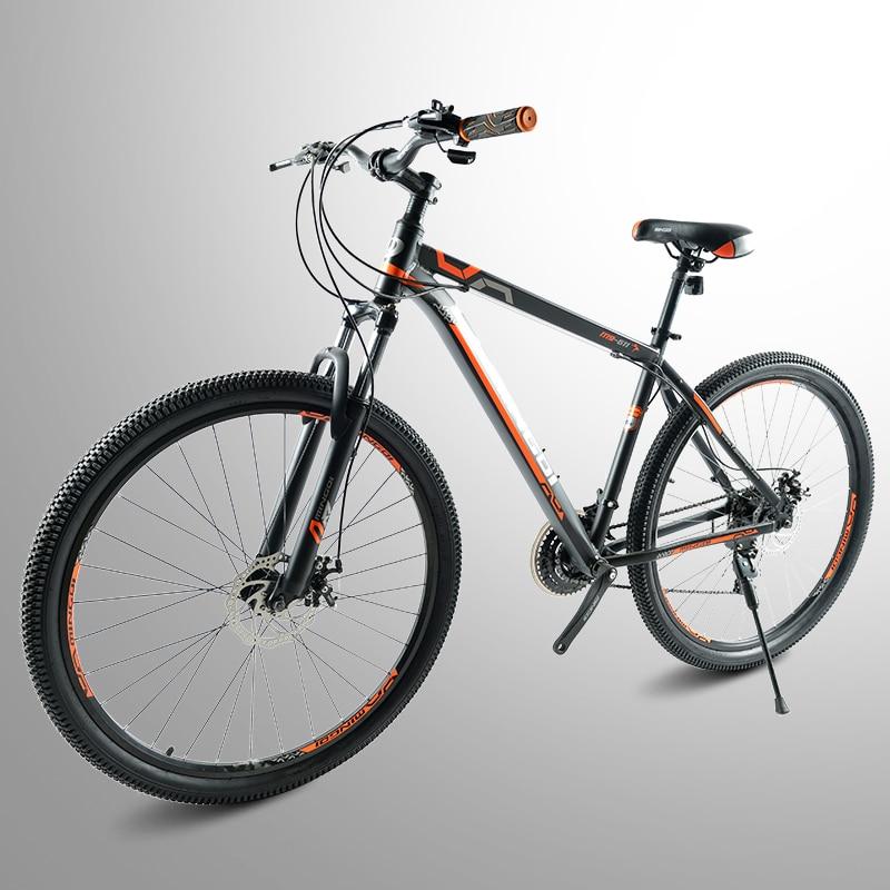 29-дюймовый горный велосипед из алюминиевого сплава, 24-скоростной велосипед, для взрослых, с регулируемой скоростью, амортизирующий спортив...