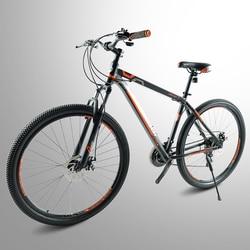 Aço de alta qualidade 29 polegada bicicleta 24 velocidade, quadro da liga alumínio mountain bike 19 polegada quadro atacado masculino e feminino