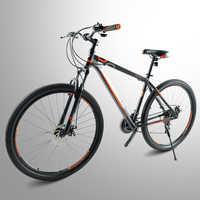 Haute qualité en acier 29 pouces vélo 24 vitesses, cadre en alliage d'aluminium vélo de montagne 19 pouces cadre en gros mâle et femelle