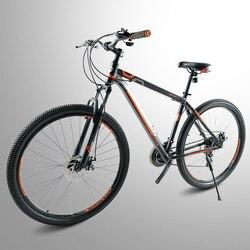 Yüksek kaliteli çelik 29 inç bisiklet 24 hız, alüminyum alaşımlı çerçeve dağ bisikleti 19 inç çerçeve toptan erkek ve kadın