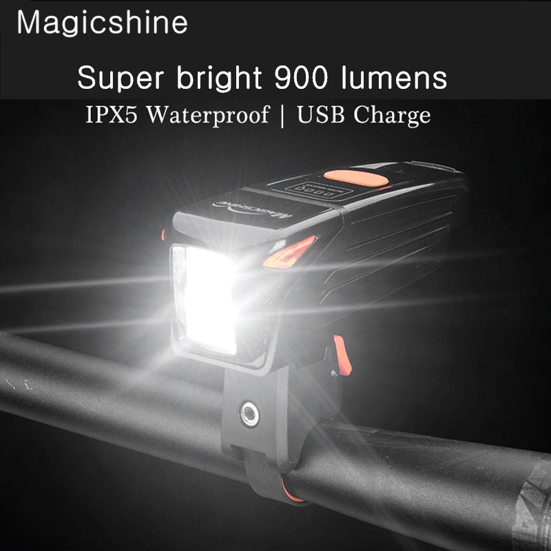 Magicshine Eagle 900 Cycling Bicycle Light USB Rechargeable 900 Lumen Bicycle LED Lamp IPX5 Waterproof MTB Bike AccessoriesMagicshine Eagle 900 Cycling Bicycle Light USB Rechargeable 900 Lumen Bicycle LED Lamp IPX5 Waterproof MTB Bike Accessories