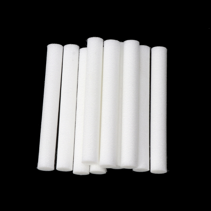 10mmx125mm  Cotton Swab For Air Humidifier 10 PCS For Car Diffuser Aroma Diffuser Humidifiers Filters Can Be Cut Replace Parts