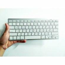 Russian Keyboard Bluetooth 3.0 Wireless keyboard Russian Hebrew Arabic language Bluetooth Keyboard For Android iOS Windows