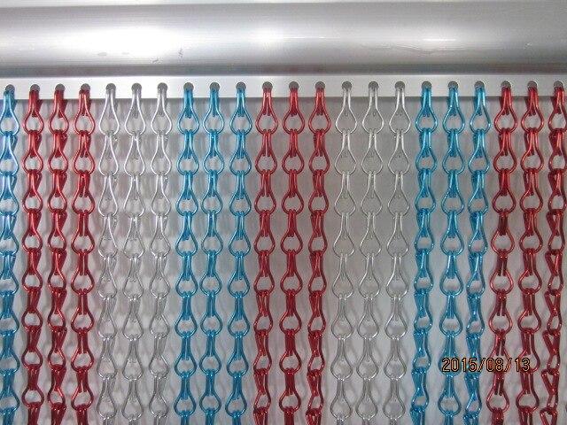 86 9 Aluminium Anti Moustiques Et Mouches Chaîne Porte Rideau Chaîne Mouche écran In écrans Pour Porte Et Fenêtre From Bricolage On Aliexpress