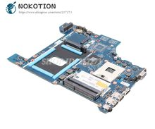 NOKOTION para Lenovo thinkpad edge E531 placa base de computadora portátil HD4000 DDR3 VILE2 NM-A044 04Y1299 04Y1298 04Y1300 Tablero Principal(China)