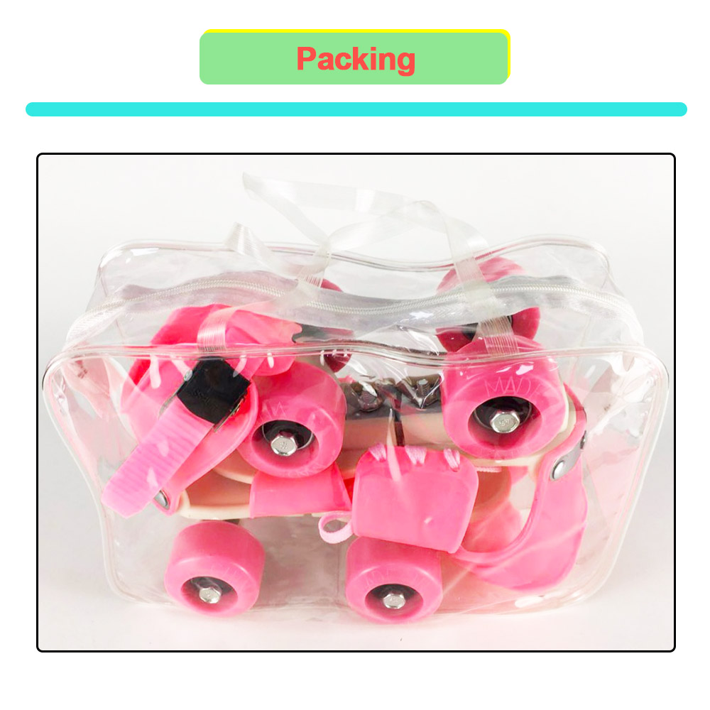 Image 5 - Children Two Lines Roller Skates Double Row 4 Wheel Skating Shoes Adjustable Size Sliding Inline Patines En Linea Kids'Gift IB02-in Skate Shoes from Sports & Entertainment