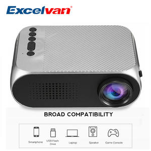 Excelvan YG320 PK YG300 LCD Projector For Home Theatre Movie Beamer
