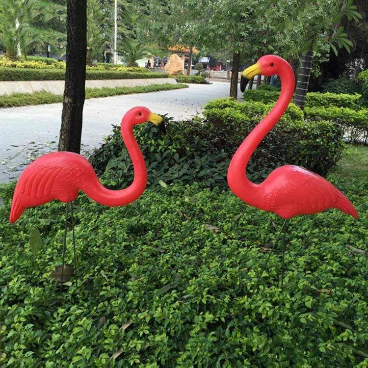 Online Buy Wholesale pink garden flamingos from China pink garden