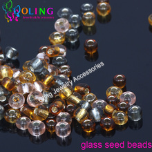 2016 New 4MM mixed-2 multicolor 85g/lot Glass Seed beads 1100pcs Spacer women earrings Bracelet choker necklace jewelry making