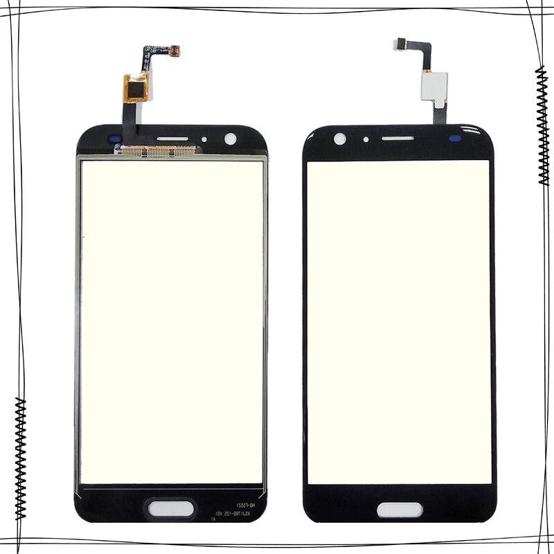 5.5 ''Noir Touchpad Écran Tactile Pour Doogee BL5000 BL 5000 Écran Tactile Digitizer Capteur Verre Avant Externe de Panneau