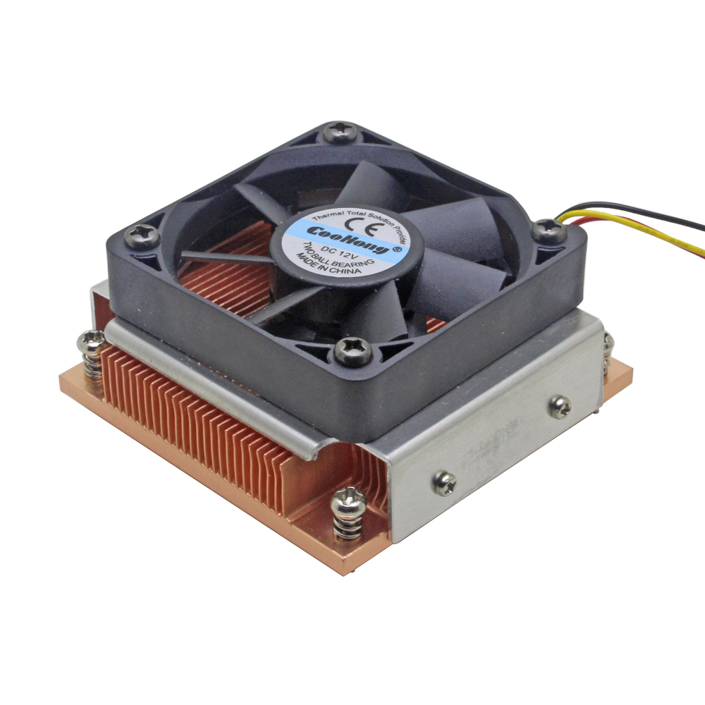 1U Server CPU Cooler Industrial Personal Computer Copper heatsink cooling fan for Intel PGA988/989 Active cooling(China)