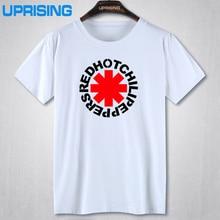 Hot nk Punk Rap Alternative Rock And Roll Red Hot Chili Peppers T shirt Men Cotton Printing Black Rock Music HIp Hop T-Shirt Tee