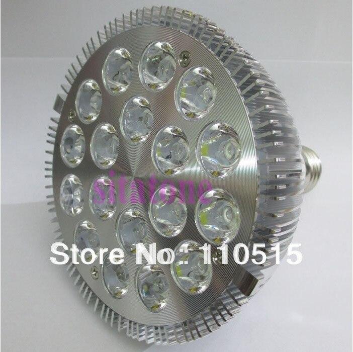 Hurtownie + Jakości 18x2 W Par38 36 w Par 38 LED Lampa Żarówka E27 Spot Light Zimny Biały | Ciepły Biały 85 V-265 V Darmowa Wysyłka 30 sztuk/partia