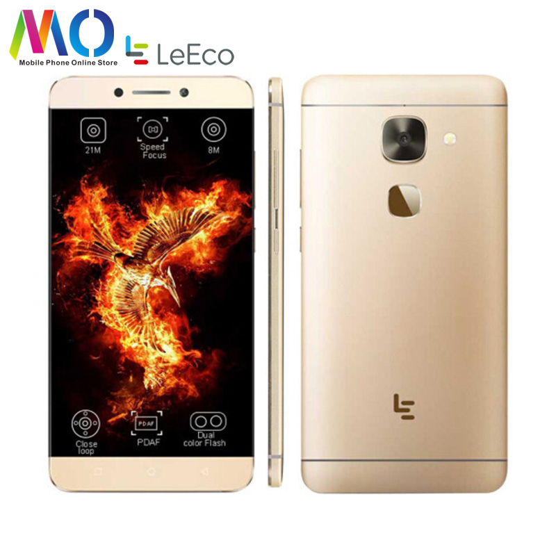 Original New Letv LeEco Le 2 X620 Smart Phone MTK Helio X20 Deca Core 3GB RAM