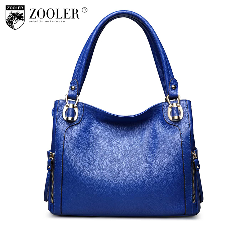 Hot Sale! Zooler woman bags 2017 bag handbag fashion handbags Brand OL lady genuine leather bag solid#2615