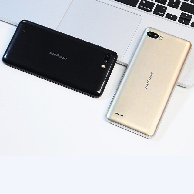 Ulefone S1 Pro Mobile Phone 5.5 inch 18:9 MTK6739 Quad Core 1GB RAM 16GB ROM 8MP+2MP Face Unlock Android 8.1 4G Smartphone