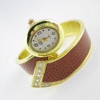 2017 New Women Snake Bracelet Watch Quartz Wristwatch Fashion Casual Ladies Dress Watch Clock Relogio Feminino