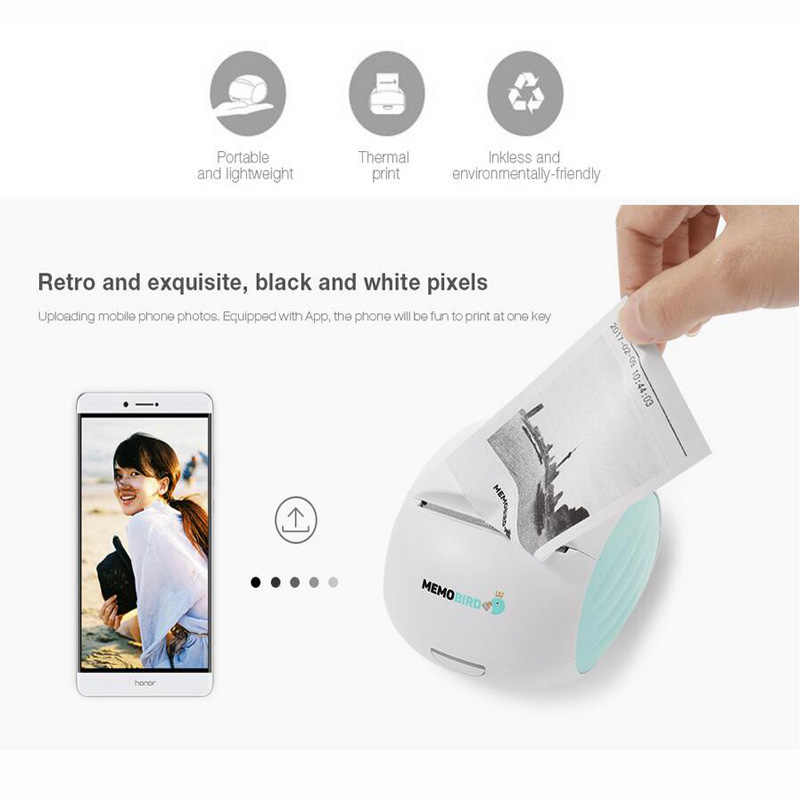 Edición Internacional memorias G2 portátil Wifi impresora térmica bolsillo foto teléfono inalámbrico impresoras de conexión