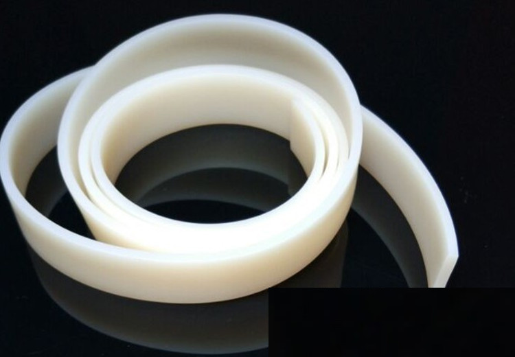 Solid Silicone Flat Strip Heat-resistance Seal Bar 30 x 50mm 30mm x 50mm 1m Translucent