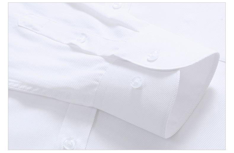 Dudalina 19 Men Casual Long Sleeved Solid shirt Slim Fit Male Social Business Dress Shirt Brand Men Clothing Soft Comfortable 6
