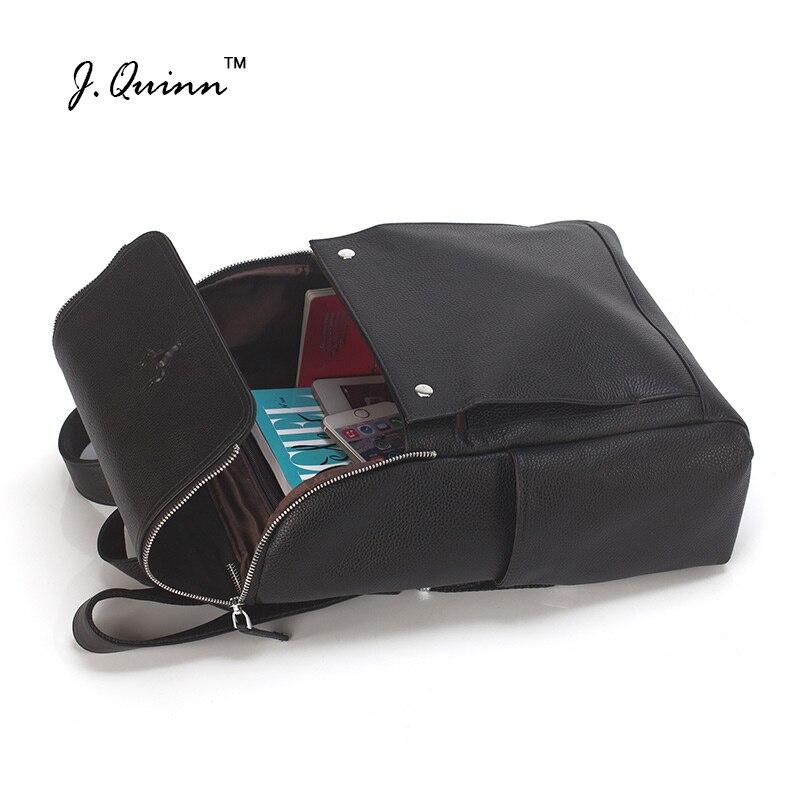 J. Quinn Для женщин рюкзак из натуральной кожи сумки на плечо Тетрадь девушка школьные рюкзаки женская мода стильная дорожная сумка рюкзак Нов