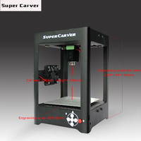 Desktop Small Laser Engraving Machine 1500MW DIY New Listing Of Machine Wood Carving Mobile Phone Wireless