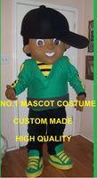 Black Hat Boy Mascot Costume Adult Cartoon Character Anime Cosply Costumes Birthday Party Carnival Mascotte Fancy Dress 1759