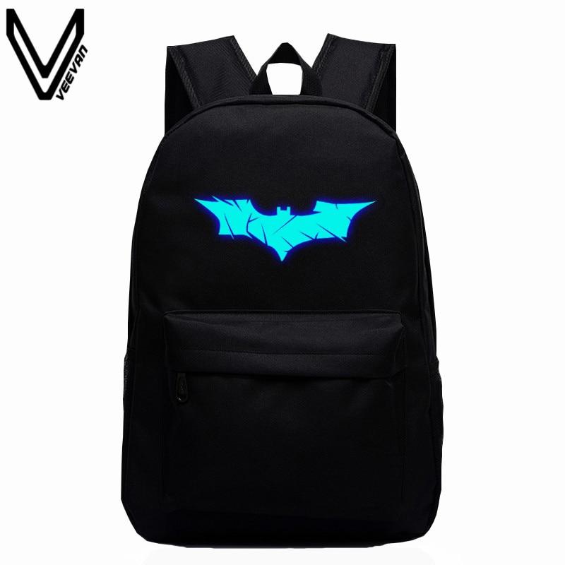 2017 New Batman Backpack Super Hero Spiderman Bags For Boys Girls School Backpacks Kids Best Gift School Bag Children Backpack